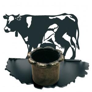 Portavelas Vaca Lechera...