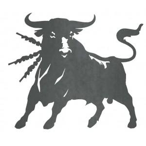 Silueta Toro Bravo