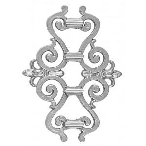 Pieza Central Aluminio Fundido