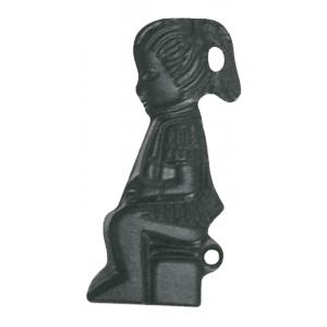 Silueta Niña Negro Ref. 27072