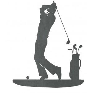 Silueta  Golfista