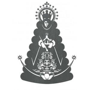 Silueta  Virgen Rocío