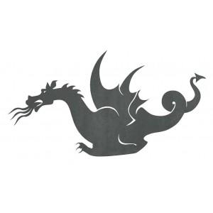 Silueta Dragón