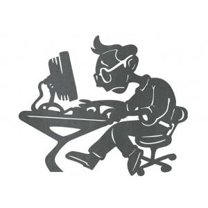 Silueta Informático