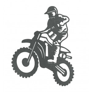 Silueta Motocross