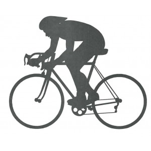 Silueta Ciclista