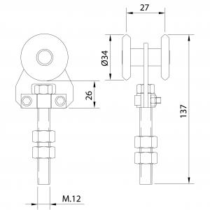 Rollapar U60 Inox