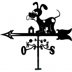 Veleta Tejado Perro Cartoon...