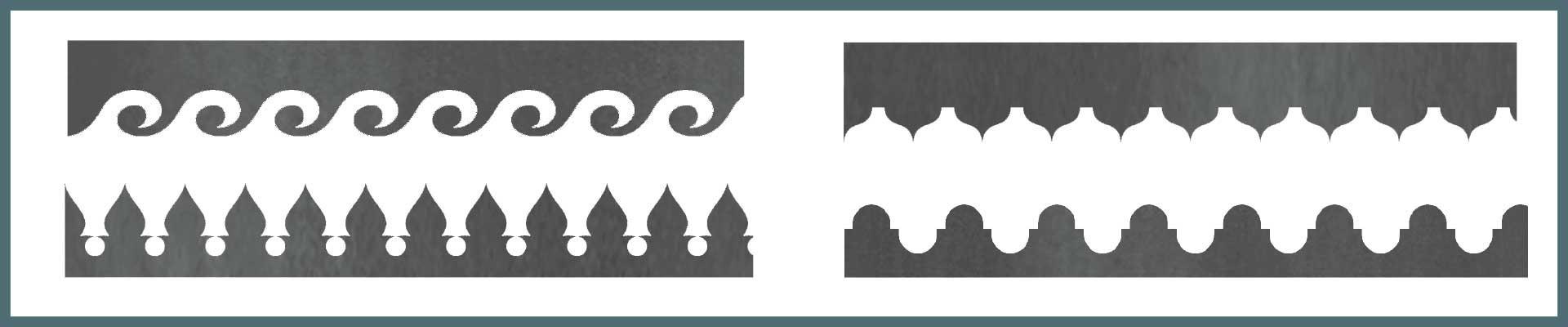 Grecas para balcones y marquesinas